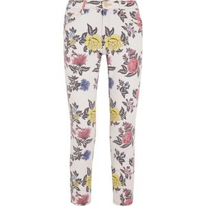 House of Holland Cropped Mid-Rise Floral Skinny 6